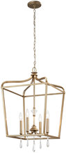 Minka-Lavery 4448-582 - 4 Light Pendant/Semi Flush