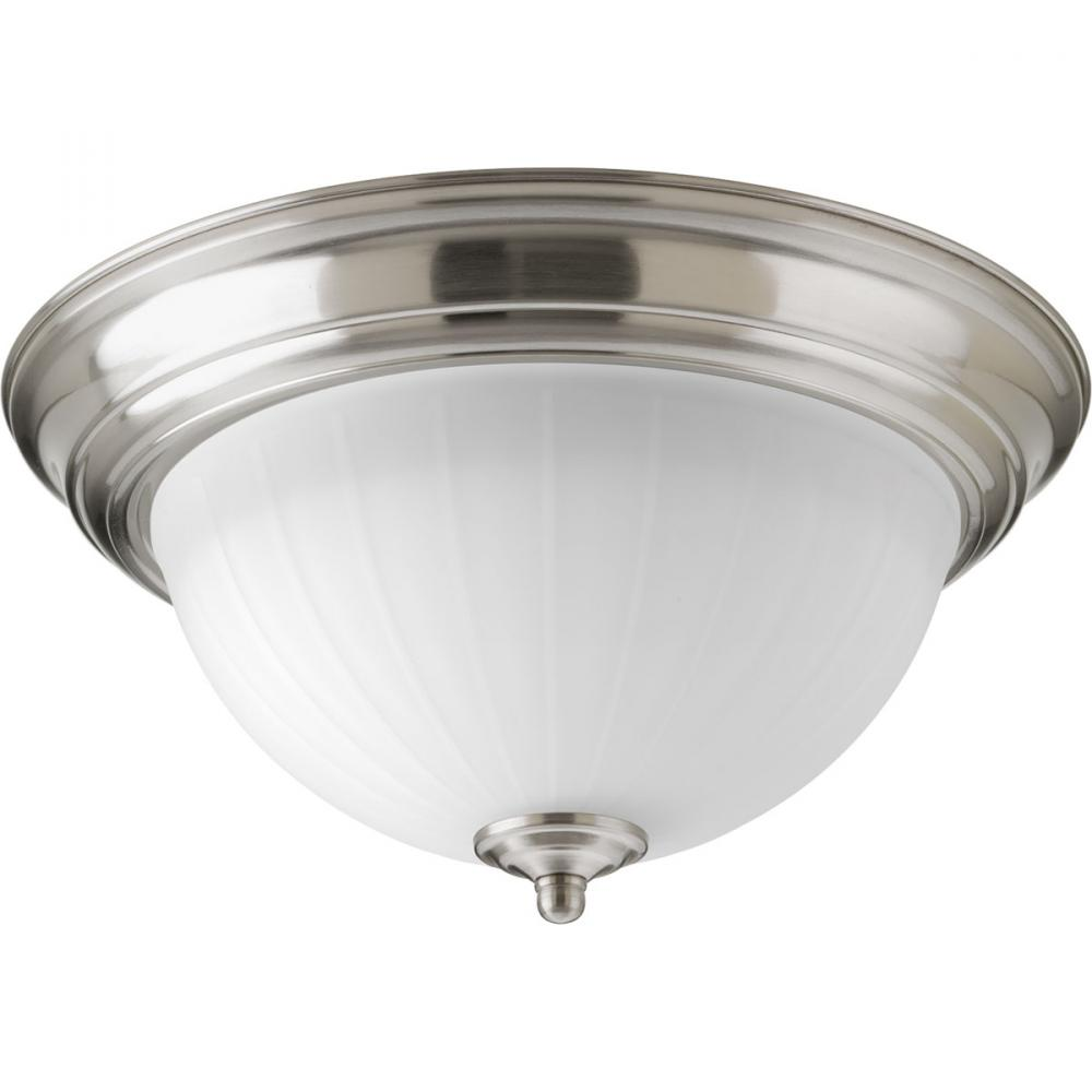 "LED Flush Mount (11-3/8"") w/AC LED Module"