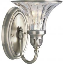 Progress P2724-101 - 1-Lt. Classic Silver Bath Light