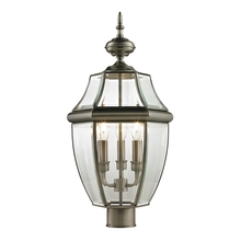 Thomas 8603EP/80 - Ashford 3 Light Outdoor Post Lamp In Antique Nic