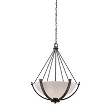 Thomas CN170341 - Casual Mission 3 Light Chandelier In Oil Rubbed