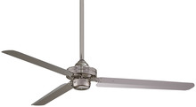 "Minka-Aire F729-BN - Steal 54"" - Brushed Nickel"