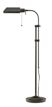 "CAL Lighting BO-117FL-DB - 62"" Height Metal Floor Lamp In Dark Bronze"
