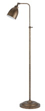 "CAL Lighting BO-2032FL-RU - 62"" Height Metal Floor Lamp In Rust"