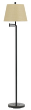 "CAL Lighting BO-2077SWFL-DB - 60"" Height Metal Floor Lamp In Dark Bronze"