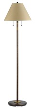 "CAL Lighting BO-234FL-RU - 59"" Height Metal Floor Lamp In Rust"