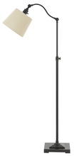 CAL Lighting BO-2474FL-ORB - 60W Pampano Metal Down Bridge Adjustable Height Floor Lamp