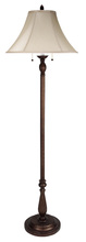 "CAL Lighting BO-581FL - 62"" Height Metal Floor Lamp In Antique Rust"