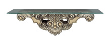 "CAL Lighting BO-821CST - 11.5"" Height Wall Mount Console Table In Antique Silver"