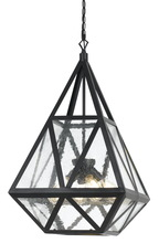 CAL Lighting FX-3651-4 - 60W X 4 Townsend Glass Chandelier
