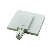 CAL Lighting HT-300-WH - LIVE END WITH OUTLET BOX COVER