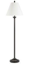 "CAL Lighting LA-60002FL-1 - 61"" Height Metal Floor Lamp In Antique Bronze"