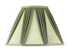 "CAL Lighting SH-1020-OW - 8"" Tall Off White Mushroom Pleated Shade"