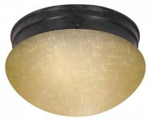 Nuvo 60-2654 - 2 Light ES Medium Mushroom w/ Frosted Glass - (1) 13w GU24 Lamp Included
