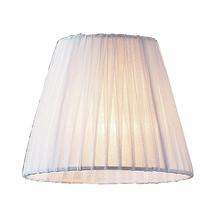ELK Lighting 1058 - Renaissance Mini Shade In White Pleated Fabric