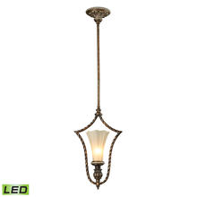 ELK Lighting 11554/1-LED - Allesandria 1 Light LED Pendant In Burnt Bronze
