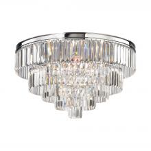 ELK Lighting 15216/6 - Palacial 6 Light Chandelier In Polished Chrome