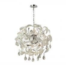 ELK Lighting 31546/18 - Zebula 16 Light Chandelier In White