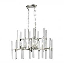 ELK Lighting 33033/6 - Crystal Heights 6 Light Chandelier In Polished N