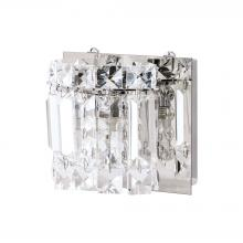 ELK Lighting BV1321-0-15 - Dutchess 1 Light Vanity In Chrome With Clear Gla